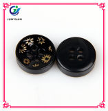 Quality Buckle Child Black and White Button