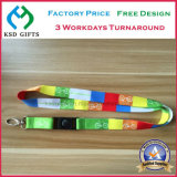 High Quality OEM Polyester Heat Transfer Printing Lanyards with Competitive Price