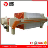 1250 Automatic Hydraulic Membrane Filter Press for Printing Wastewater