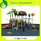 2014 Tropical Tree Fisher Price Outdoor Playground Outdoor Wood Children Playground Equipment Outdoor Playground Rubber Mats