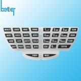 Silkscreen Silicone Rubber Button Keyboard