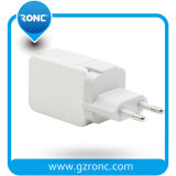 Hot Selling Portable Mini Multiport USB Mobile Charger with PC Material