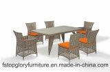 2018 New Style Rattan Garden Furniture Outdoor Dining Set