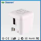 Portable 5V 2A UL AC DC Travel Plug USB Charger