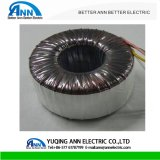 Single Phase 30W Copper Wire Electric Toroidal Transformer Output 20-5000va