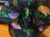 Wholesale Double-Sided Printing 75D Chiffon Polyester Fabric for Kimono