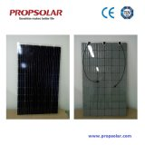 Best Performance Transparent Double Glass Solar Panel 290W Mono with 30 Years Warranty