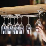 Wall Mounted High Quality Stainless Steel Wine Glass Cup Rack