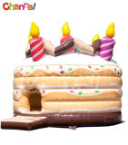 Cake Inflatable Bouncer/Kids Inflatable Jumping Castle Bb091