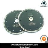 150mm Hot Pressed Diamond Turbo Saw Blade