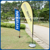 Factory Price Outdoor Promotion Custom Advertising Flying Banner Feather Flag Beach Flag