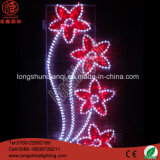 LED Flower Motif Holiday National Day Decorations