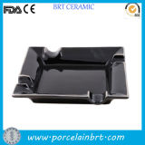 Black Square Portable Pocket Ash Tray