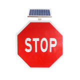 China Wholesale Suppliers LED Blinking Octagon Stop Sign