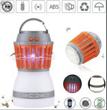 Solar Mosquito Killer Rechargeable Travel Insects Mosquito Killer with LED Night Lamp