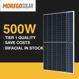 Moregosolar Double Side Solar Panel 475W 480W 485W 490W 495W 500W Photovoltaic Glass Solar Panel