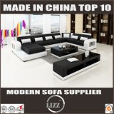 Wholesale Home Furniuture U Shape Leather Sofa