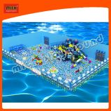 Ball Pool with Larger Slide of Indoor Soft Playground for Kids