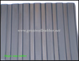 Gw3008 Factory Directly Sale Wide Ribbed Rubber Sheet