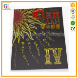 Luxury Pertfect Binding Magazine Printing with Cover Stamping