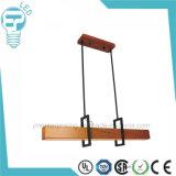 Modern Wood Grain LED Pendant Lighting Chandelier