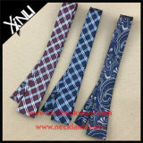 China Factory Wholesale Skinny Woven Jacquard Silk Tie
