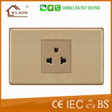Thailand Tisi Wall Socket 220V 3pin Socket Outlet