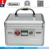 Lockable Seal Holder Box with Portable Handle for Office Use