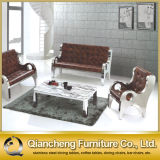 PU Material for Cushion Stainless Steel Leisure Chair