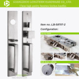 Luxury Stainless Steel Lock Set with ISO Certification (LB-S8707-2)