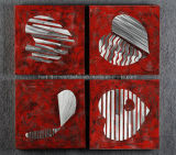 Rock Red Passion Metal Wall Decor / Art