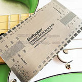 String Action Gauge Steel Ruler for Acoustic Electric Bass Guitar String Instruments Luthier Measuring Tool in/mm