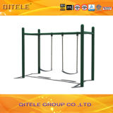 Outdoor Double Swing for Gym Fitness Playground Equipment (QTL-3601)