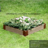 WPC Interlocking Flower Planter for Private Garden Usage