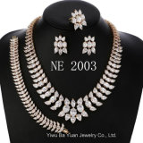 Bridal Wedding Marquise Cut Cubic Zirconia Necklace Earring and Bracelet for Women