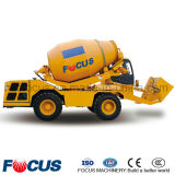 Chinese Self-Loading Diesel Concrete Mixer, 4.0cube Meters