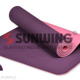 Custom Printed Eco Friendly Anti Slip PVC Yoga Mats