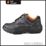 Steel Toe Safety Shoe with Genuine Leather (SN2006)