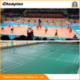 PVC Sports Flooring Used for Internationally Recognized Sports Venues Such as Badminton, Table Tennis, Volleyball, Handball and So on.