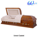 Hope Chinese Luxury Coffins Wooden Oak Casket for Burial
