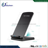 Muilt-Protection Professional Design Production Sales Dual Coils Smart Big Power Fast Wireless Charger Black Housing