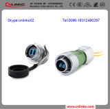 High Quality Optical Fibre Cable Connector/Fiber Optic Connector (DH-24-F00PE-P01, DH-24-F00SX-S01)