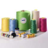 China Manufacturer 100% Spun Polyester Sewing Thread Textile Accessories