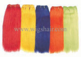 Colorful Straight Remy Human Hair Weaving