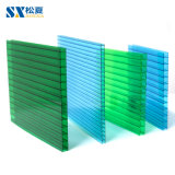 Sunshade Hollow 10mm Polycarbonate Transparent Roofing Sheets Building Material Greenhouse Panels Good Price 100% Virginal Material