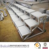 Easily Moveable Aluminum Step Stools for Warehouse