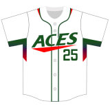 Customized Classic Traditional Sublimated Baseball Tee Shirts with Your Logos