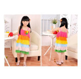 OEM New Design Colorful Girl Dresses