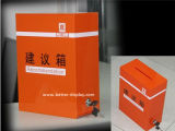 Custom Acrylic Monitor Speaker Box with Lock for Government (BTR-Y2008)