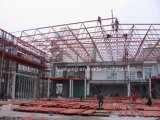 Exhibtion Hall Space Frame in Algeria